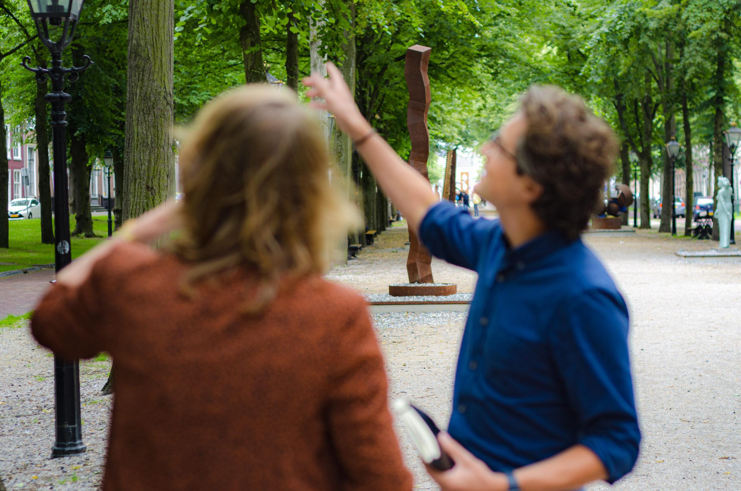 Joline Wortelboer en Sander van der Horst